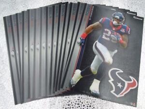 """Arian Foster 11 Fathead Houston Texans NFL 7"""" Decal Miami Dolphins Volunteers"""