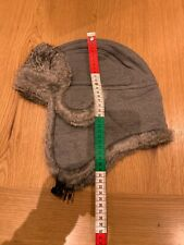 D&G Hat Cotton And Real Fur Size M For Men Used