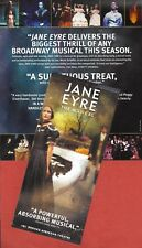 "James Barbour ""JANE EYRE"" (the Musical) Marla Schaffel 2000 Broadway Flyer"