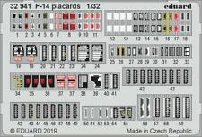 Eduard 1/32 Grumman F-14 Placards # 32941