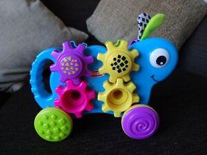 Playskool Push Along Motor-Skills Cog Turning & Fitting Toy