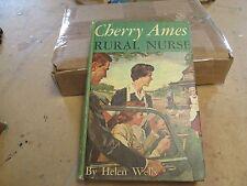 1961 Cherry Ames Rural Nurse by Helen Wells