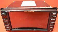 OEM 10-12 ToyotaRAV4/Corolla/Matrix Radio NavGPS System 86120-02E40 FaceID E7019