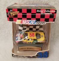 Winner's Circle 2003 Dated Collectible Ornament 38 M&M Elliott Sadler
