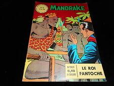 Les mondes mystérieux Mandrake 11 Editions des remparts avril 1963