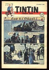 Journal de TINTIN belge  1948   n°31
