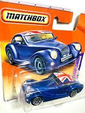 Diecast MINT Matchbox Not Hot Wheels  Morgan Aeromax Mib New Blue
