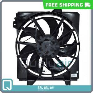AC Radiator-Condenser Fan fits Hyundai Elantra, Tiburon QU