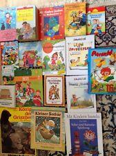 Konvolut 18 Kinderbücher ab 3 bis erstes Lesen Paket Janosch Walt Disney Basteln