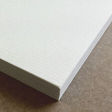 A4 Sheets Conqueror Brilliant White Laid Textured 100gsm Craft Paper Pack