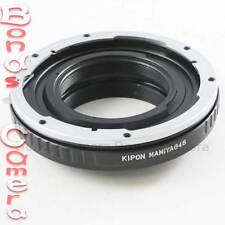 Kipon Mamiya 645 mount lens to Nikon F Adapter D4S Df D610 D810 D750 D5200 D7100