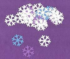 TINY SNOWFLAKES winter die cuts scrapbook cards