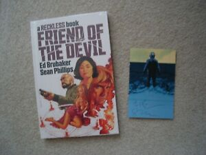 Friend of the Devil Sealed HC Signed Bookplate Ed Brubaker Sean Phillips