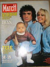 Paris Match N° 1538 17 novembre 1978 Michel Sardou Liz Taylor Hussein Rubinstein