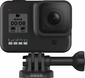 GoPro HERO 8 Black 12MP Waterproof Action Camera Bundle. W255