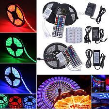 1m-30m LED RGB Strip SMD5050 30/60 LEDs Streifen Stripe Band Leiste+44Key+Trafo