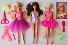 Barbie Lotto Fashion Play Cut Style Party Changes Steffie Anni 90 USATO RECUPERO