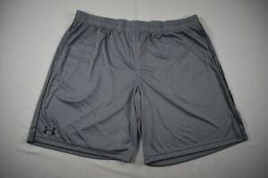 Under Armour Shorts Men's Gray HeatGear NEW 3XL