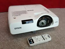Epson EB-530 Projector - LCD, HDMI - PC, Home Cinema - With Remote - 2467 Hours