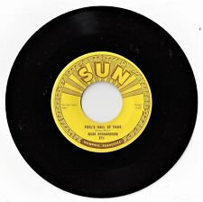 RUDI RICHARDSON - Fools Hall of Fame / Why Should I Cry - 45 RPM (1957)