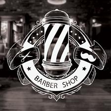 Barber Shop Sign, Barber shop window decal, barber shop sticker