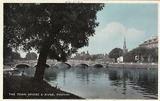 The Town Bridge & River, BEDFORD, Bedfordshire
