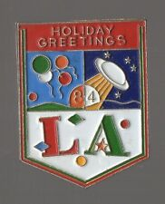 Pin´s Holiday Greetings L.A. USA (signé custom pin´s n°9934 / 10000)