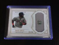 2019 Topps Definitive David Ortiz Game Used Jumbo Relic Patch #33/50