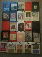 8 Track Tape Lot 25 (4 unopened brand new)