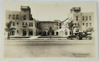 "Vintage Real Photo Post Card ""The California"" Orange Co Finest Hotel AZO 1900's?"