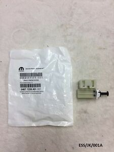 GENUINE MOPAR Brake Light Switch for Jeep Wrangler TJ & JK 1997-2016 ESS/JK/001A