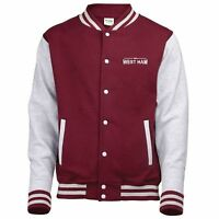 100% West Ham Fan Varsity Jacket Kids