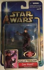 Zam Wesell w/ Face-Reveal Mask! Attack of the Clones Star Wars Action Figure #18