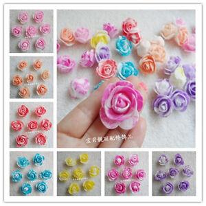 3-4cm PE Foam Roses Artificial Flower Wedding Bride Bouquet Decor DIY
