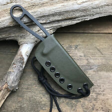 RK Custom OD Green Kydex Sheath For Becker BK14 Fixed Blade Knife Neck Carry