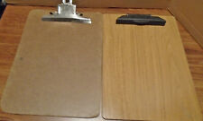 Vintage Mead and Service Brands Letter Size Clipboards, 2