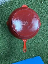 Le Creuset Cast Iron 30cm Frying Pan / Skillet - Cerise Red