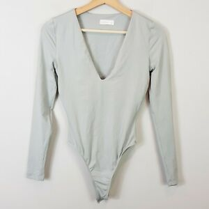 KOOKAI | Womens Grey Bella Bodysuit [ Size 1 or AU 10 / US 6 ]