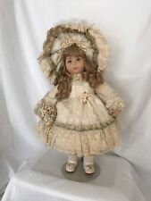 """Vlasta 20"""" Rebecca Doll by Pat Thompson - All Original - Signed & Dated With Tag"""