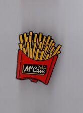 Pin's alimentation / Cornet de frites Mac Cain