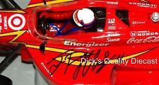 RARE - AUTOGRAPHED Juan Pablo Montoya 1999 Target Indy - CART R o Y & Champion