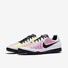 NEW Nike Magista Onda Indoor Soccer Futsal White Volt Black 651541-106 Men SZ 10