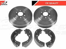 FOR NISSAN NAVARA D40 2.5 3.0 TD REAR BRAKE SHOE SHOES SET BRAKE DRUM DRUMS PAIR