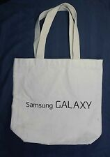 "Samsung GALAXY The Next Big Thing Is Here Tote Bag 14""X13""X4"" Cotton/Canvas"
