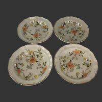"""Set Of 4 Mikasa Heritage Olde Tapestry Salad Dinner Plates 8.5"""""""
