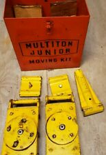 Machinery skates movers Multiton Junior Moving Kit, 2 skates, 2 bracket, adapter