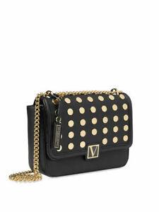 BRAND NEW Victoria's Secret The Victoria Medium Shoulder Bag Black FREE SHIPPING