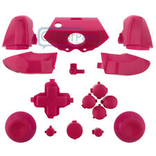 Full Button Sets Mod Replace Part for Microsoft Xbox One Controller Chrome Solid
