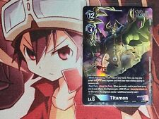 Digimon TCG Titamon AA Alt Art BT6-081 - Super Rare - Booster to Sleeve