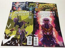 GOTHAM ACADEMY #1-5 (DC/2014/1ST SEMESTER/CLOONAN/FLETCHER/061716) FULL SET OF 5
